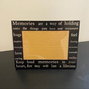 4x6 Memories Picture Frame